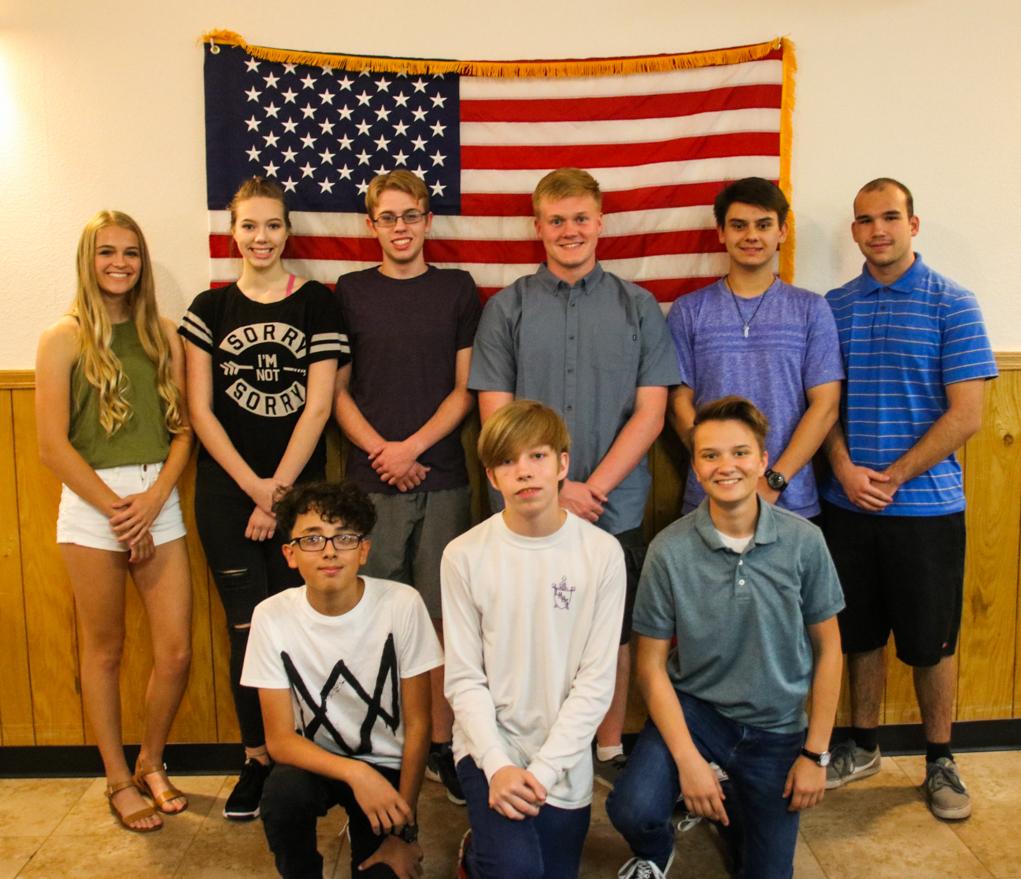 Elks Honor High School Students