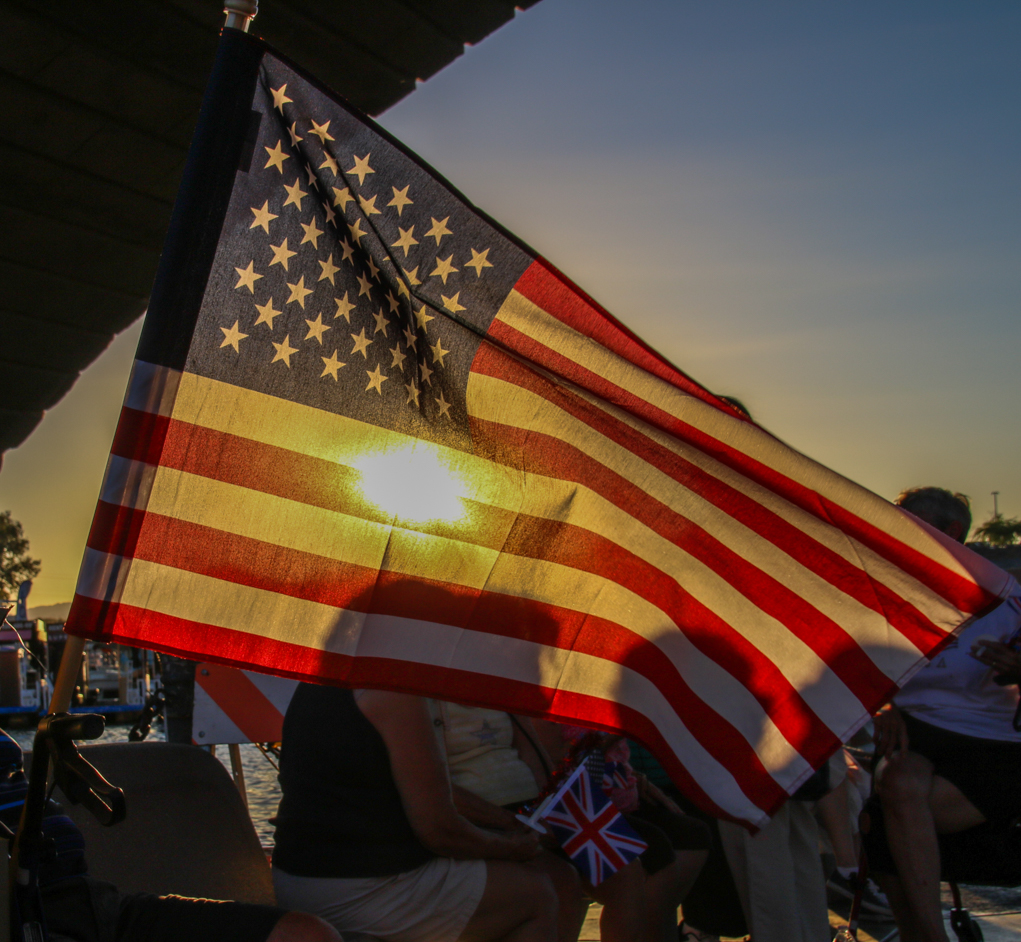 What To Do When That Well-Loved American Flag Is Ready To Retire