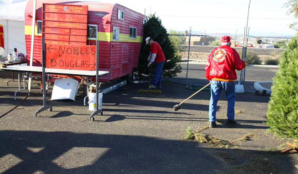Marine Corps League Seeks Donations To Replace Trailer And Supplies Lost In Fire