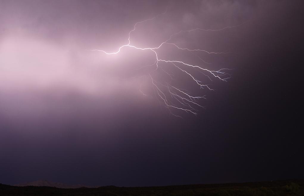 Monsoon Roars Into Havasu