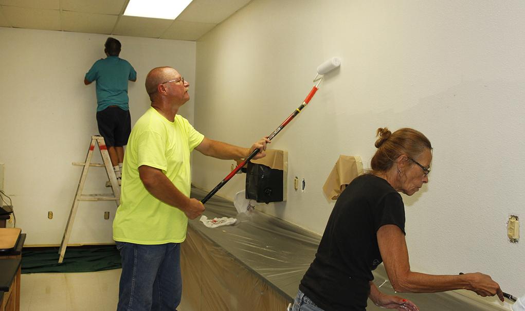 Serve: Thunderbolt School Painting Project