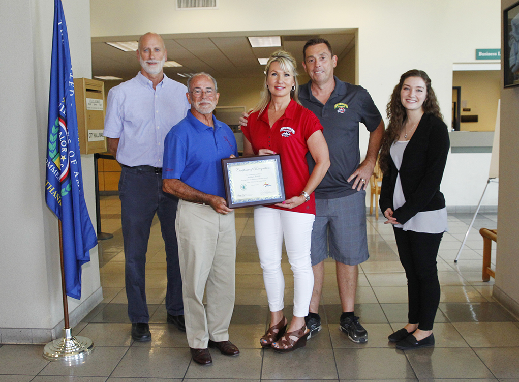Mudshark Brewery Awarded For Water Conservation Efforts