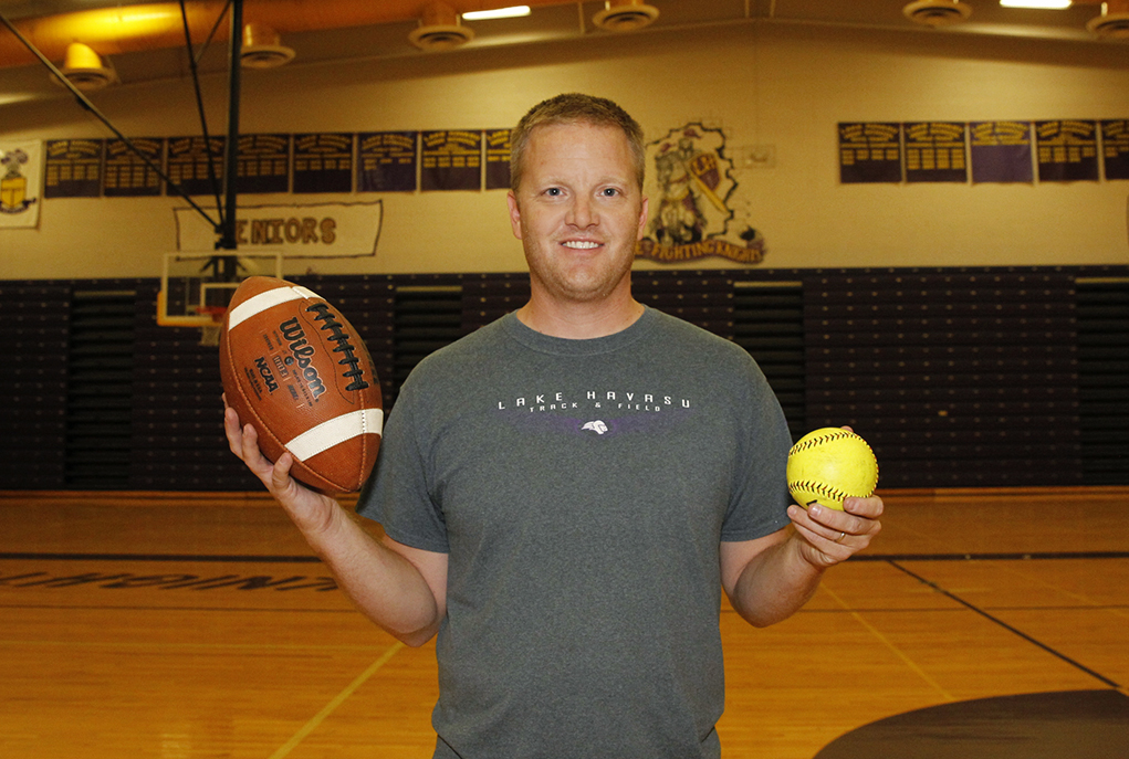 Get To Know Brady Krueger, New LHHS Athletic Director