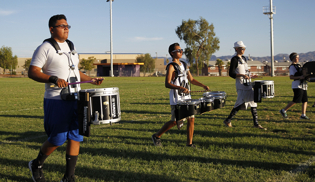 20-Year-Old Band Uniforms On Their Last 'Legs'
