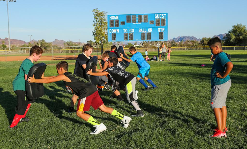 Lake Havasu Chiefs Youth Football and Cheer Practice Underway