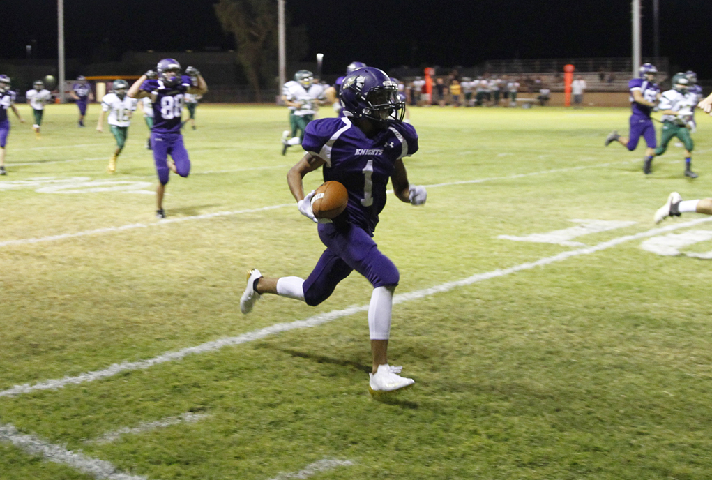 Knights' JV Squad Scores Victory