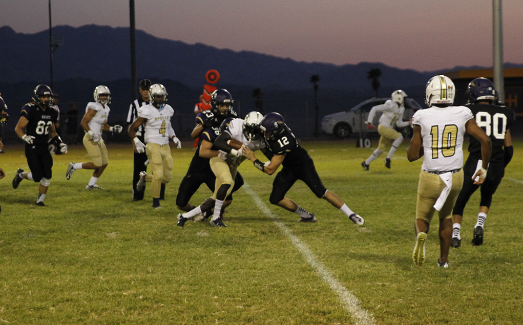 Knights Fall To Apollo In Friday Night Matchup