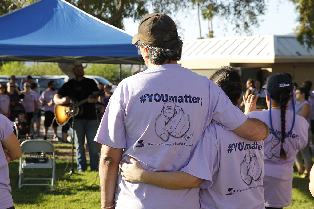 3rd Annual Suicide Awareness and Prevention Walk