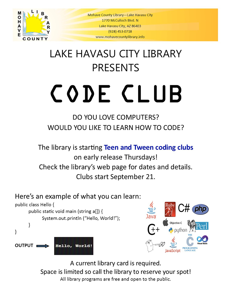 Tween Coding Club