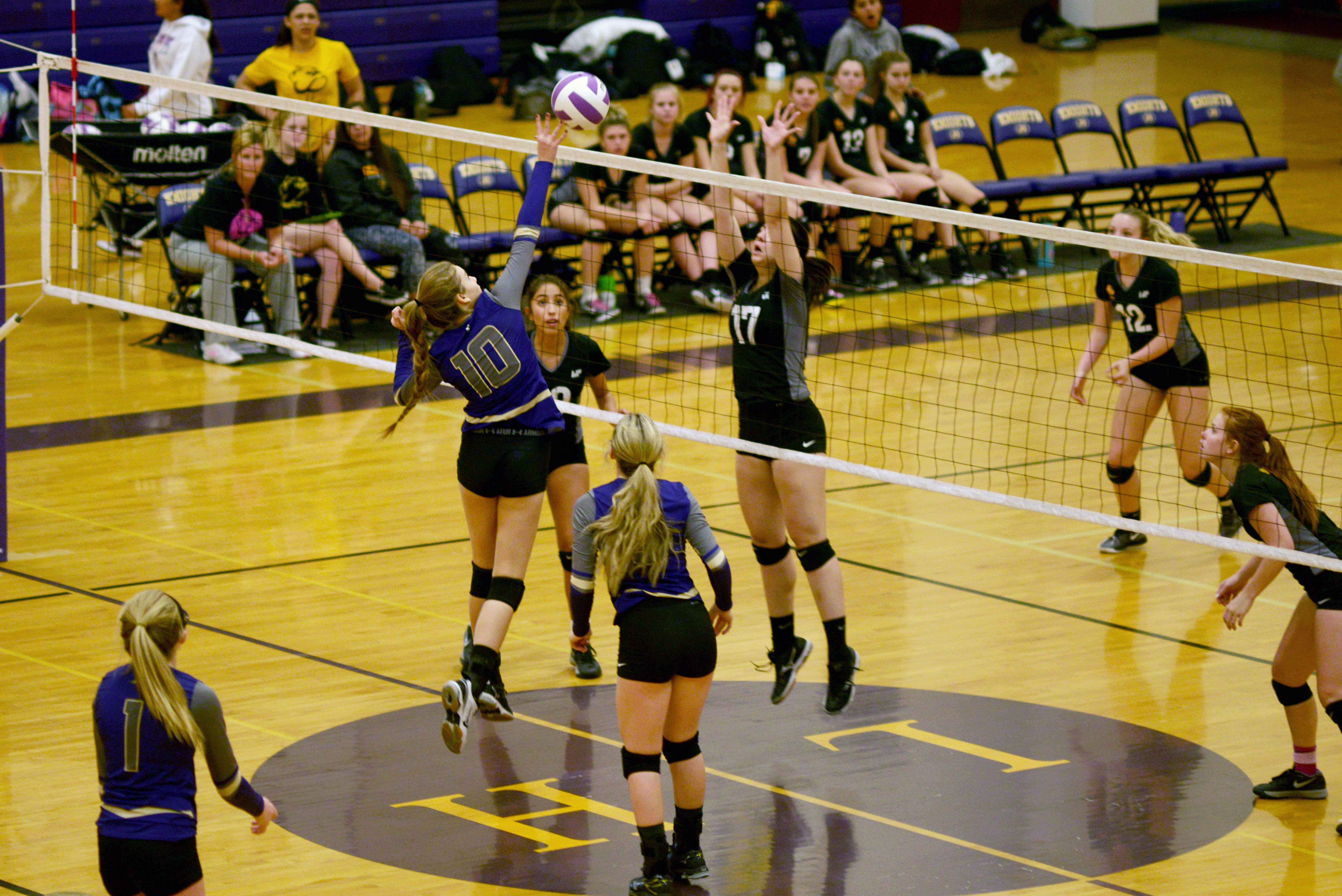 Mixed Bag At LHHS Volleyball Match