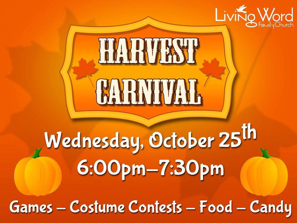 Harvest Carnival at Living Word Family Church