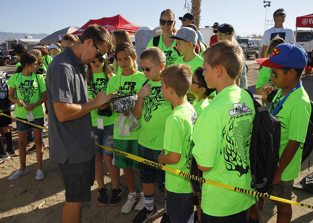 Starline Elementary  Students Meet IJSBA Racers
