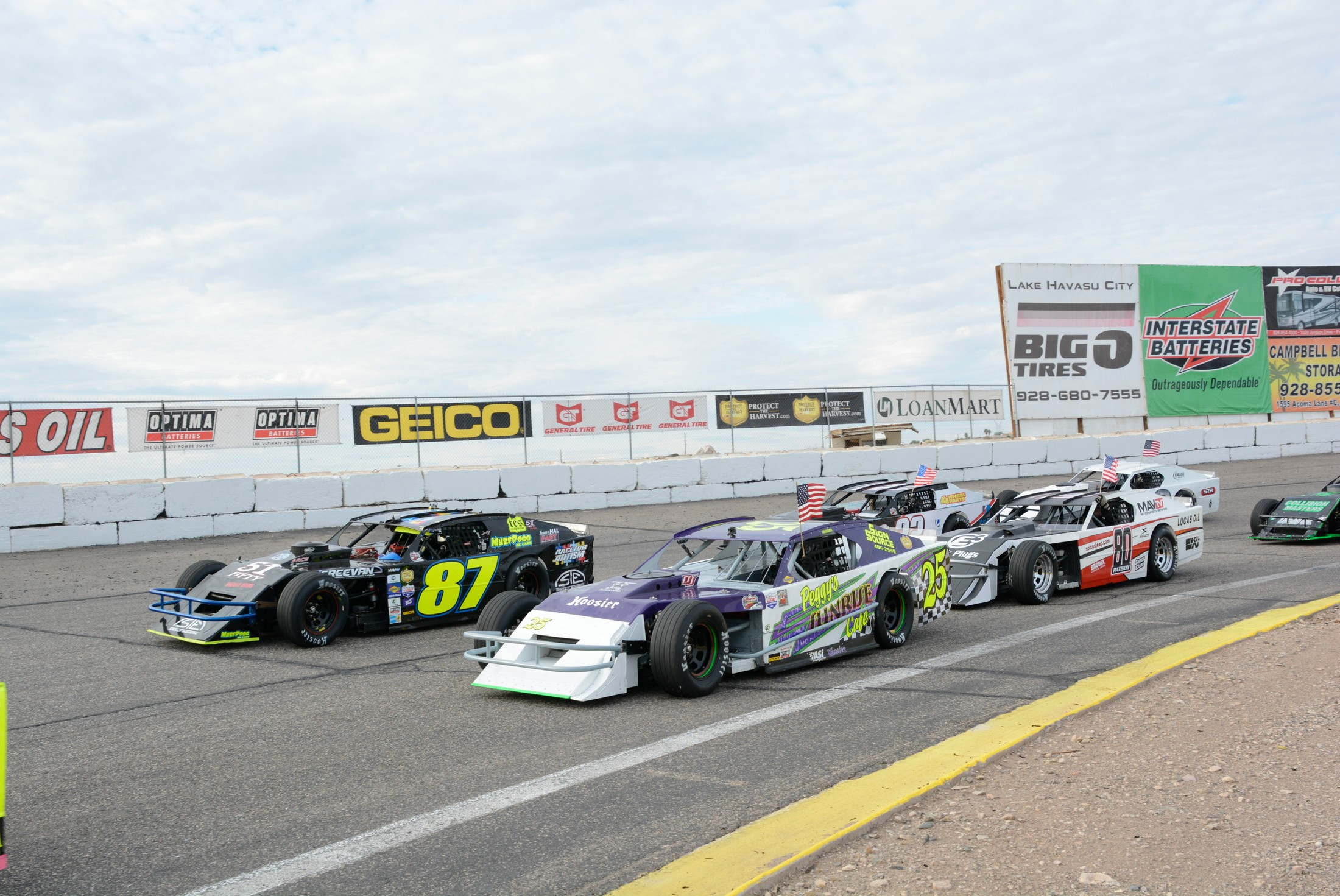Lucas Oil Modifieds at Havasu 95 Speedway