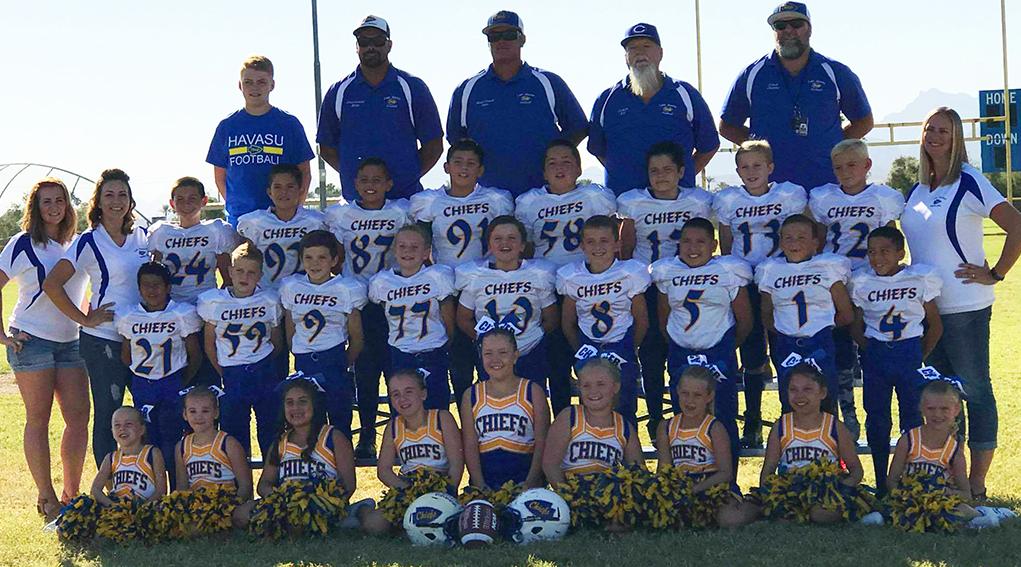 Lake Havasu's American Youth Football Chiefs Head To Playoffs In Yuma