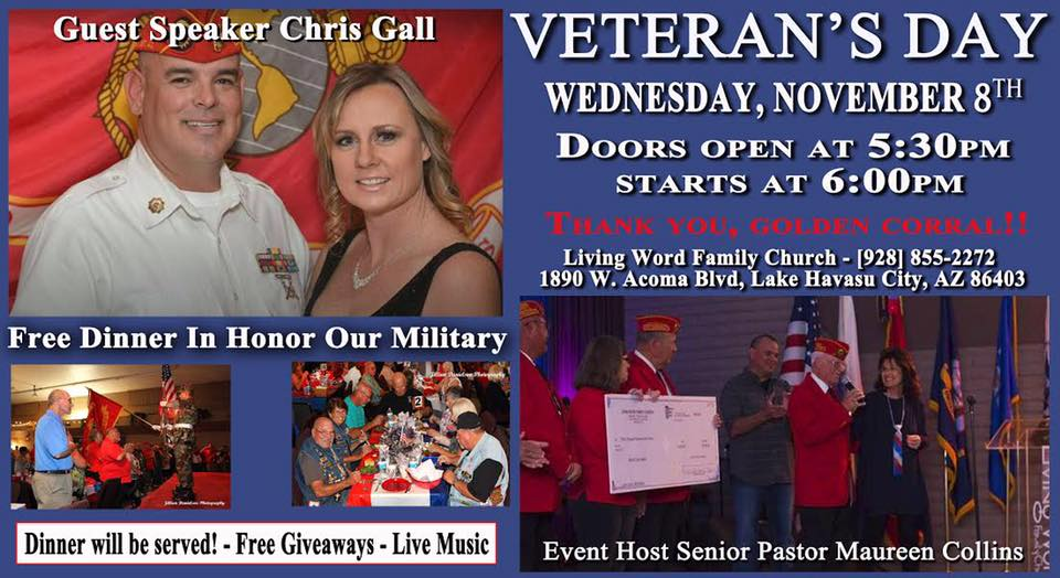 Veterans Day Dinner