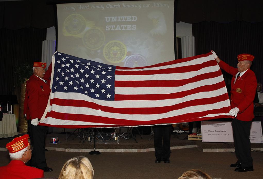 Living Word Family Church Hosts Veterans Appreciation Dinner
