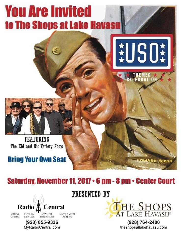 USO Veteran's Day Celebration