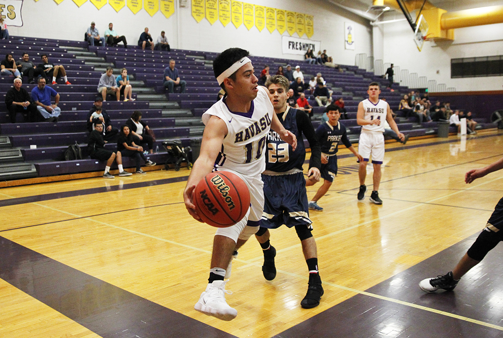 LHHS Basketball Teams Play Against The Parker Broncs In Season Home Opener