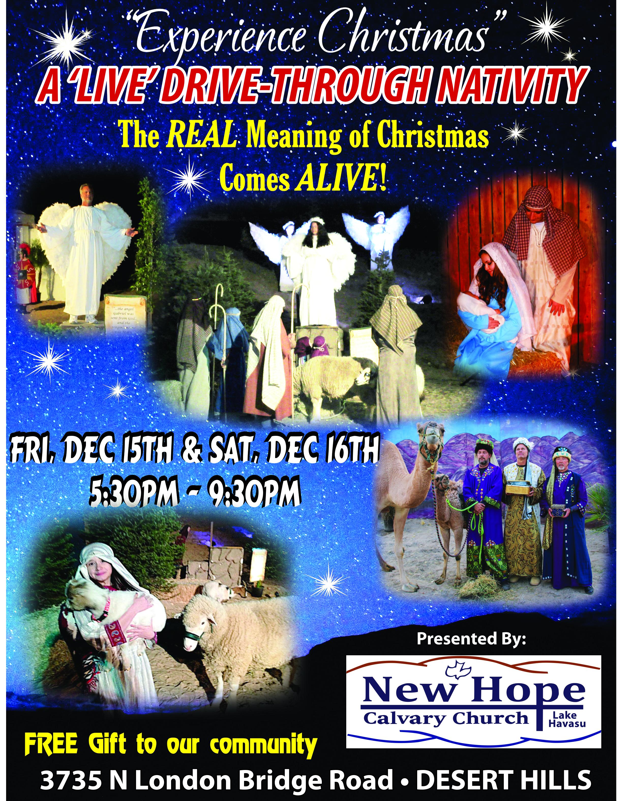 Drive Through Nativity