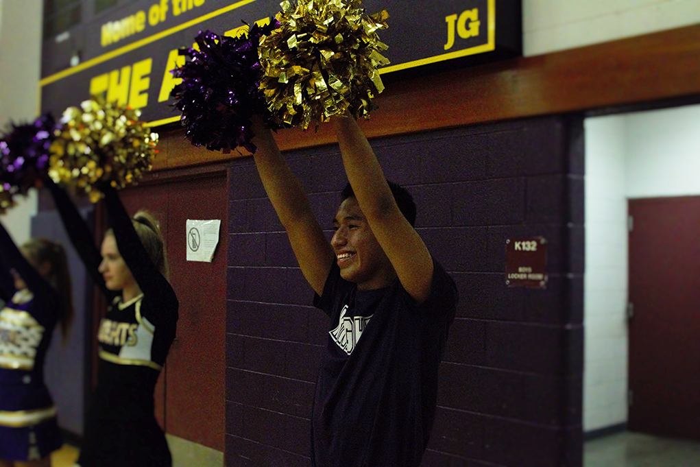 LHHS Cheerleader Psyched About Hawaiian Summer Camp