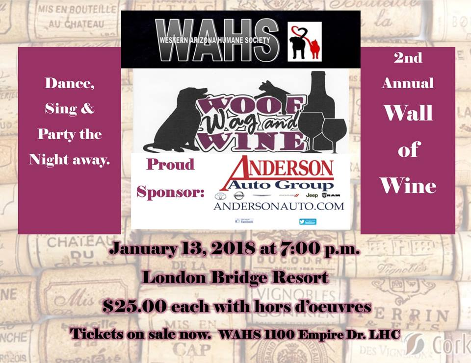 2nd Annual WAHS Wall of Wine