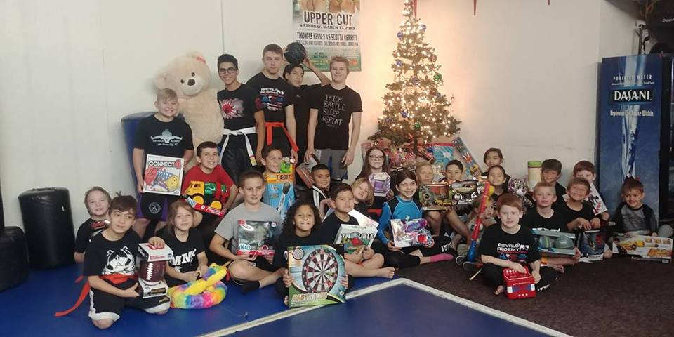 Arevalo Academy Brings Christmas To Foster Children