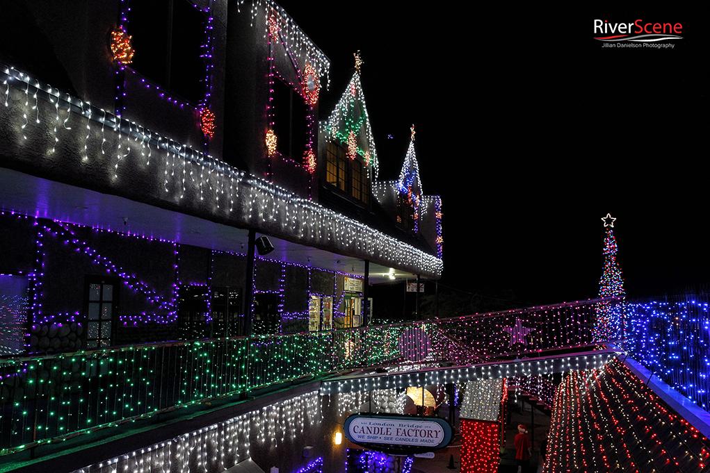 Holidays Illuminated In The English Village