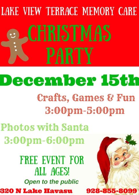 Lakeview Terrace Memory Care Christmas Party