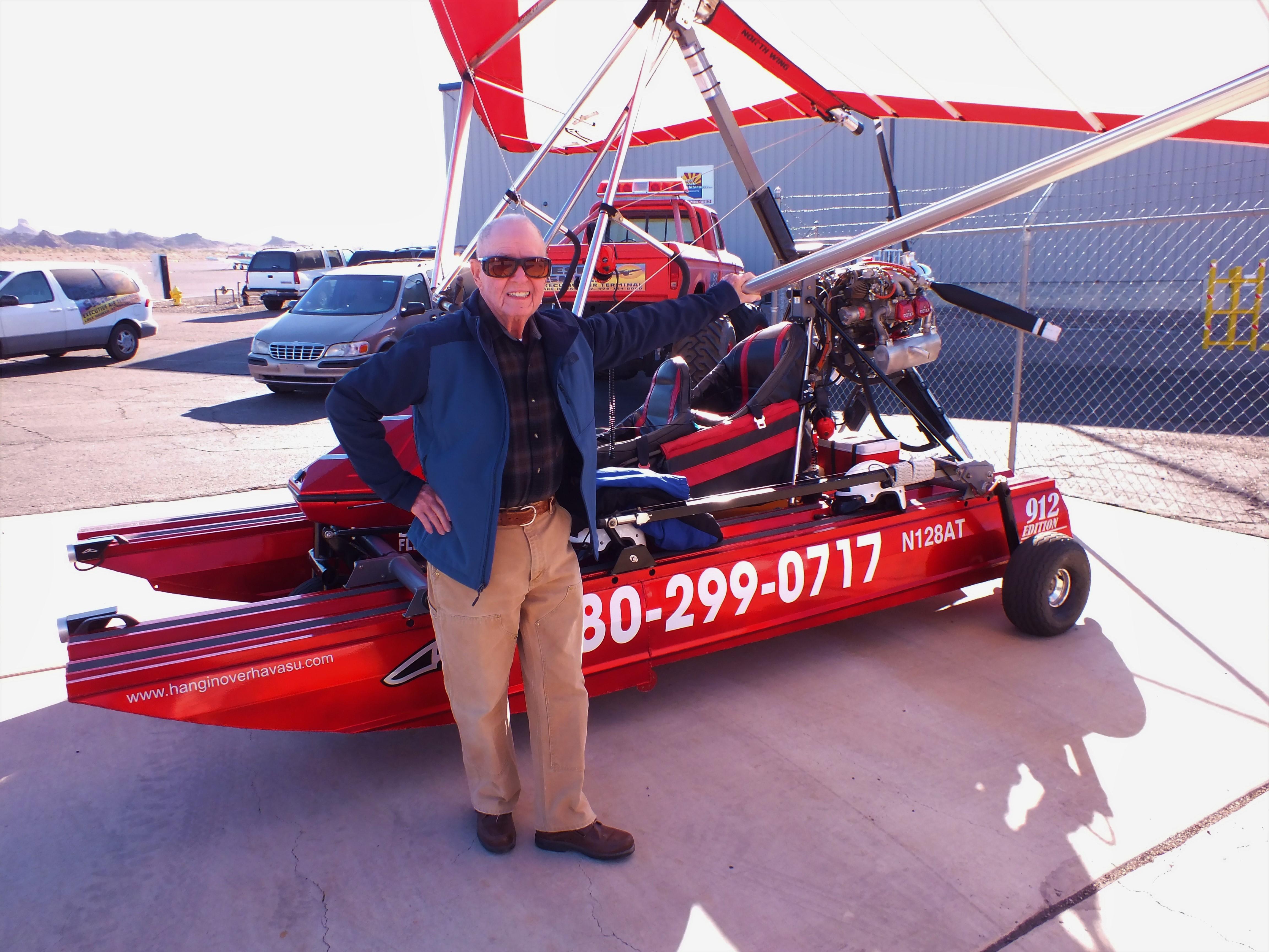 90-Year-Old Takes Flight To Celebrate Birthday