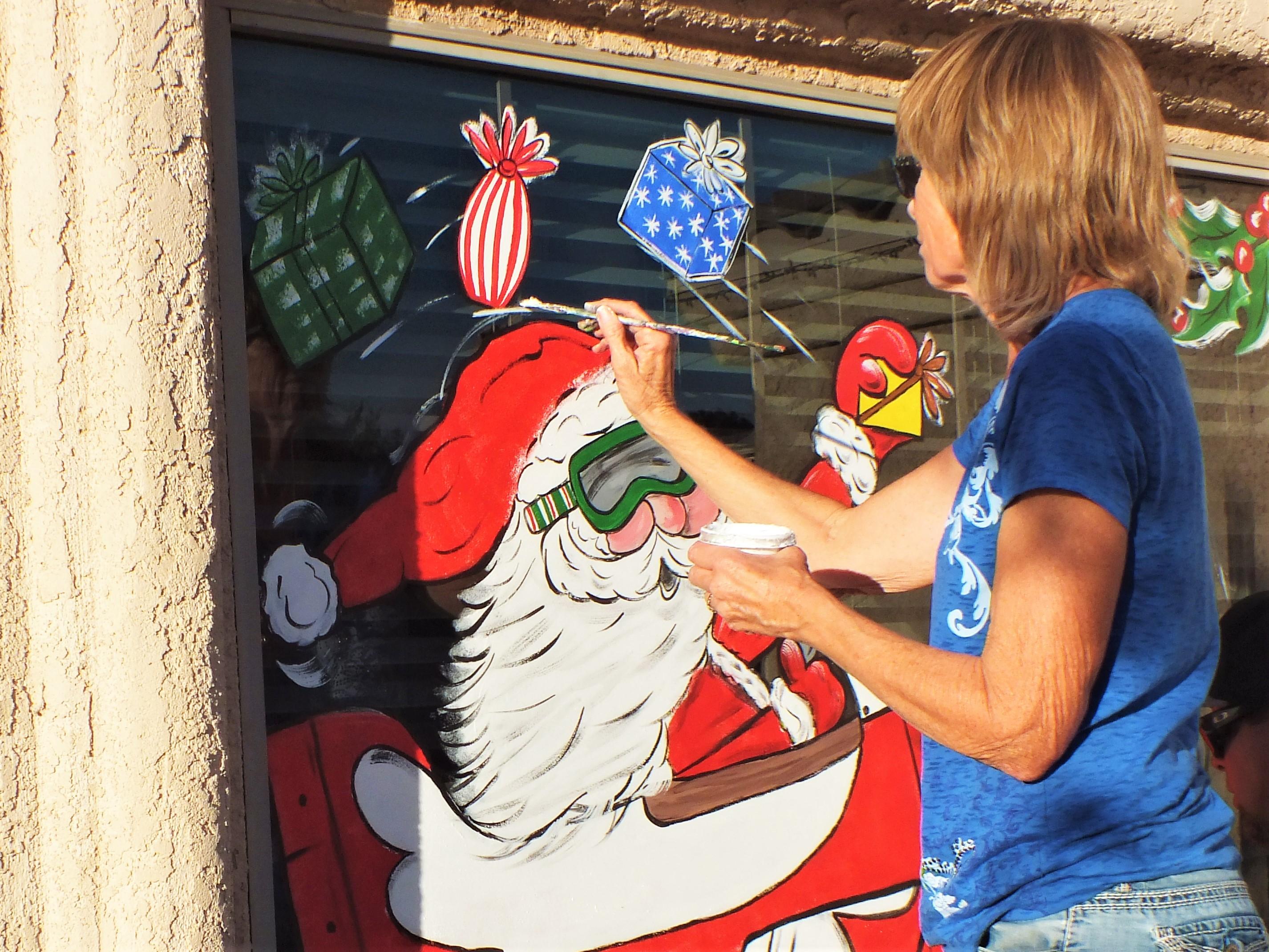 Julie Mendes: Local Window Artist