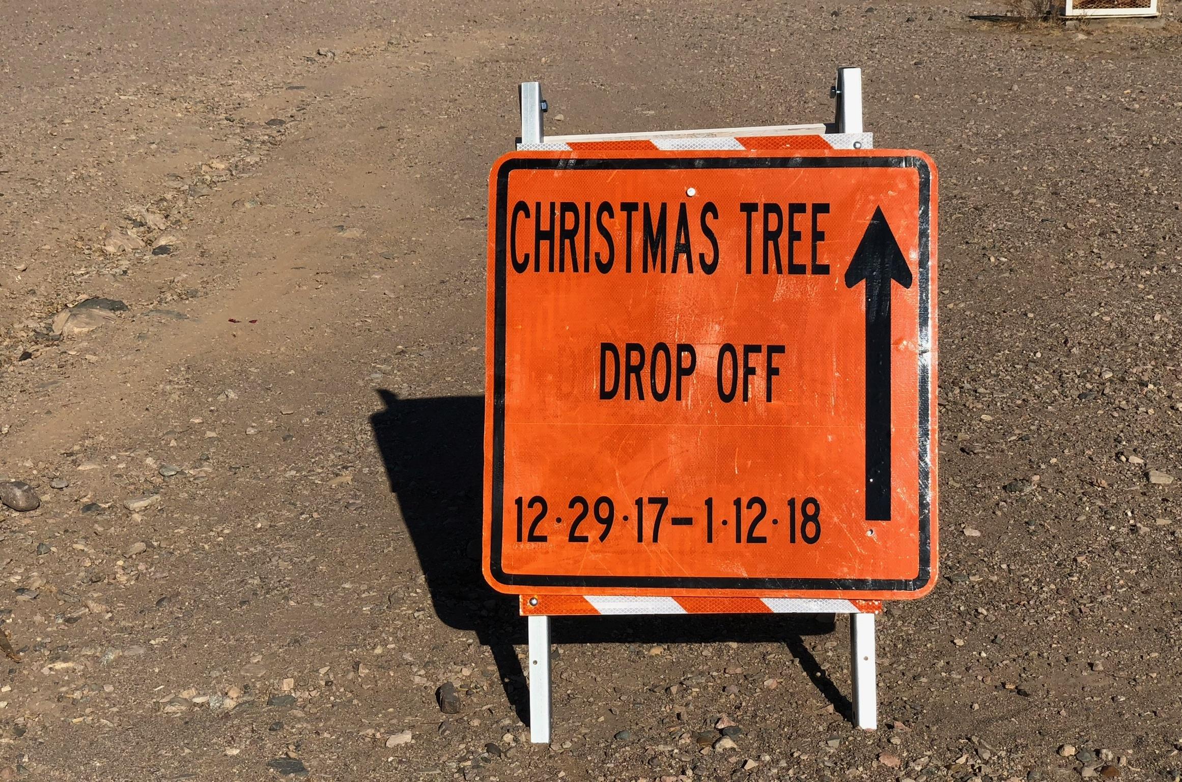 Christmas Tree Recycling Starts Friday