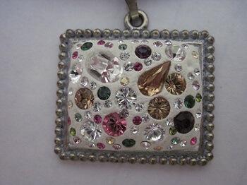 Make Your Own Swarovski Crystal Pendant