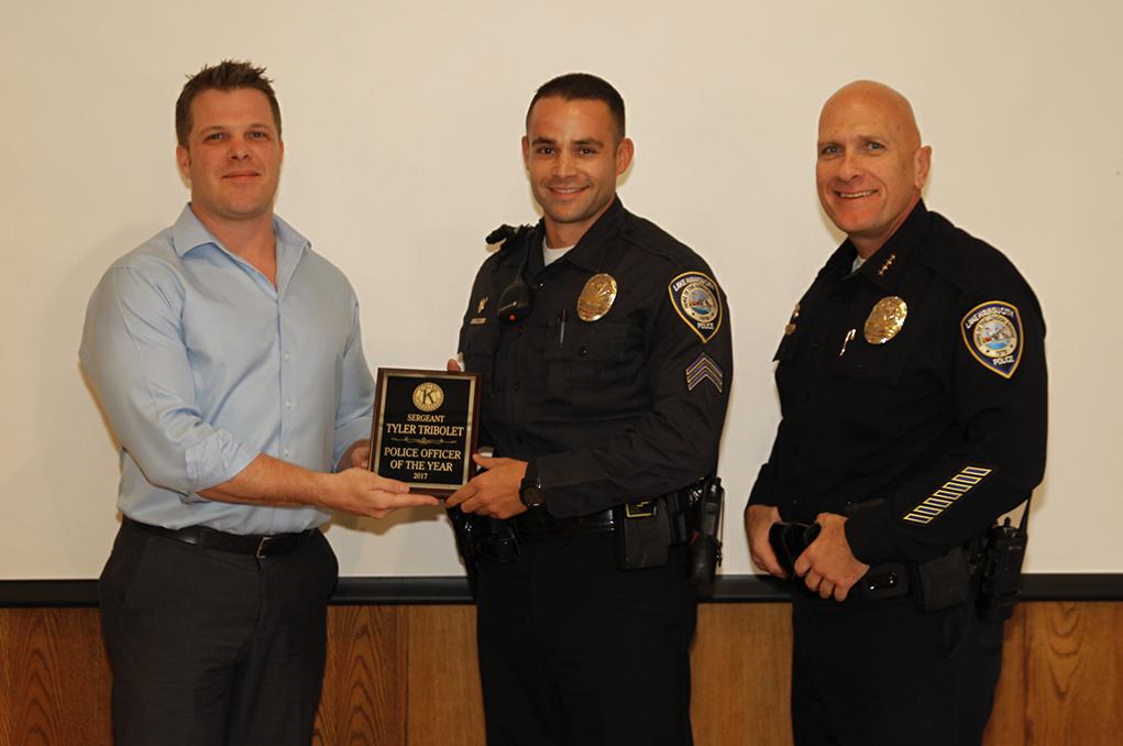 Lake Havasu Kiwanians Name Police Officer Of The Year