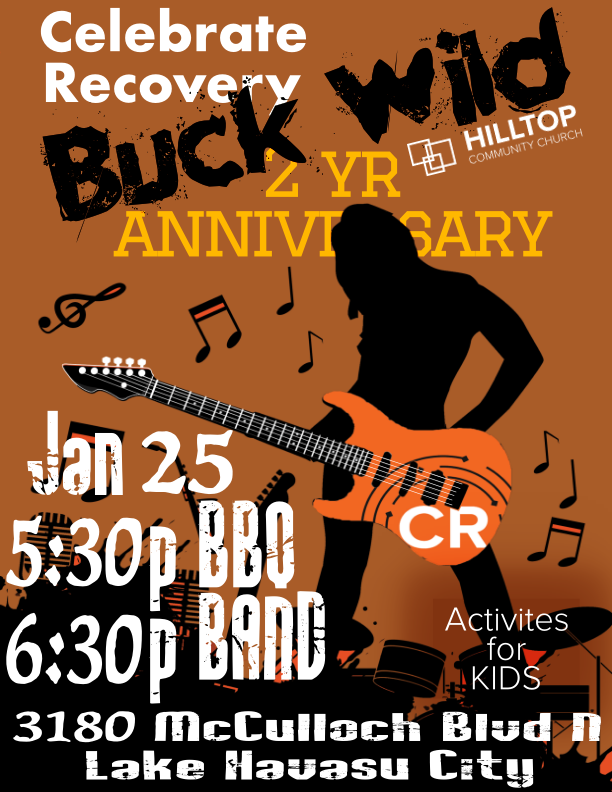 Celebrate Recovery's Buck Wild!!