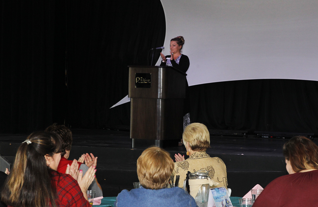 Chamber Of Commerce Hosts Up With Women