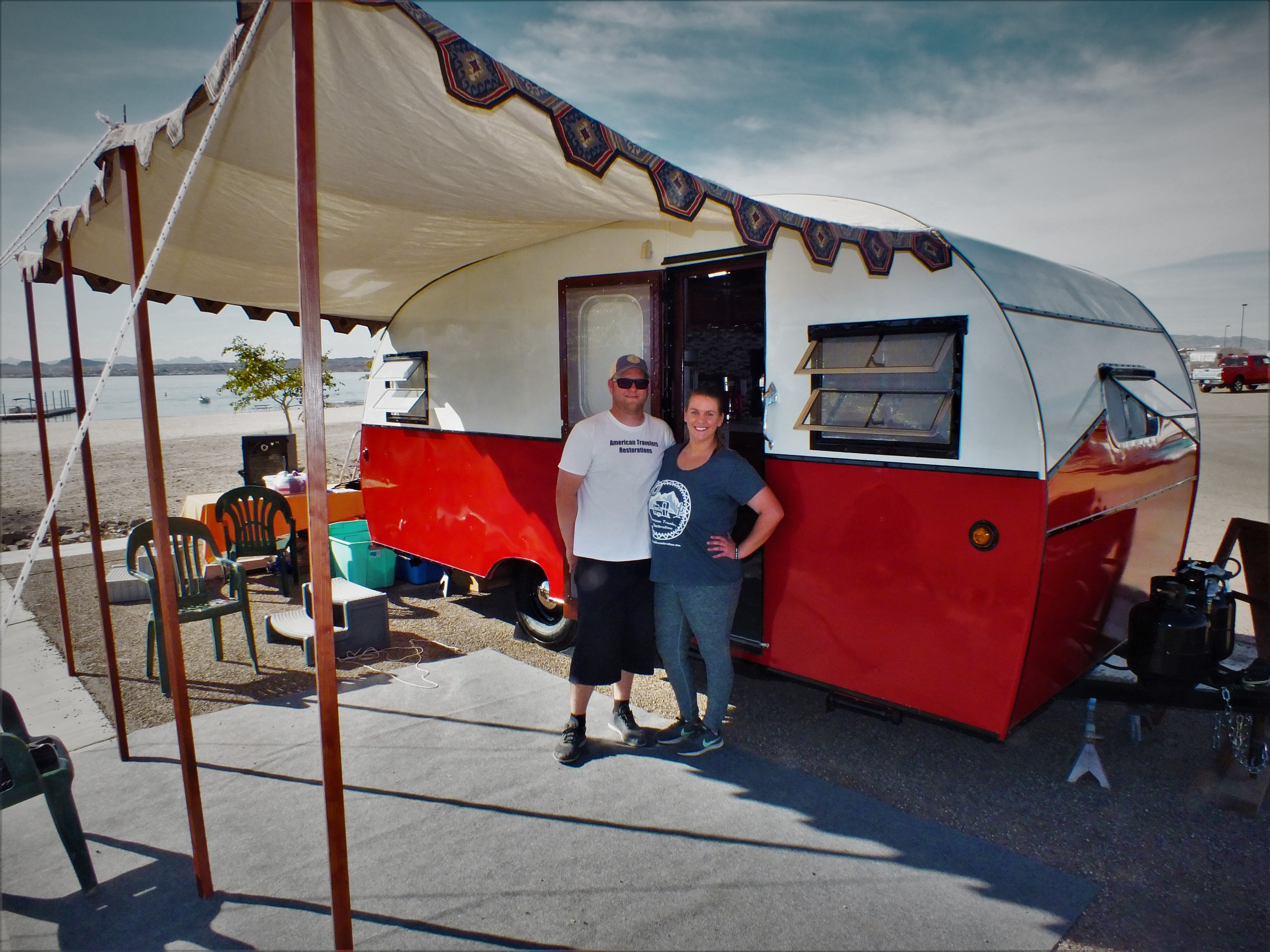 Vintage Trailer Campout: Home Sweet Home Away From Home