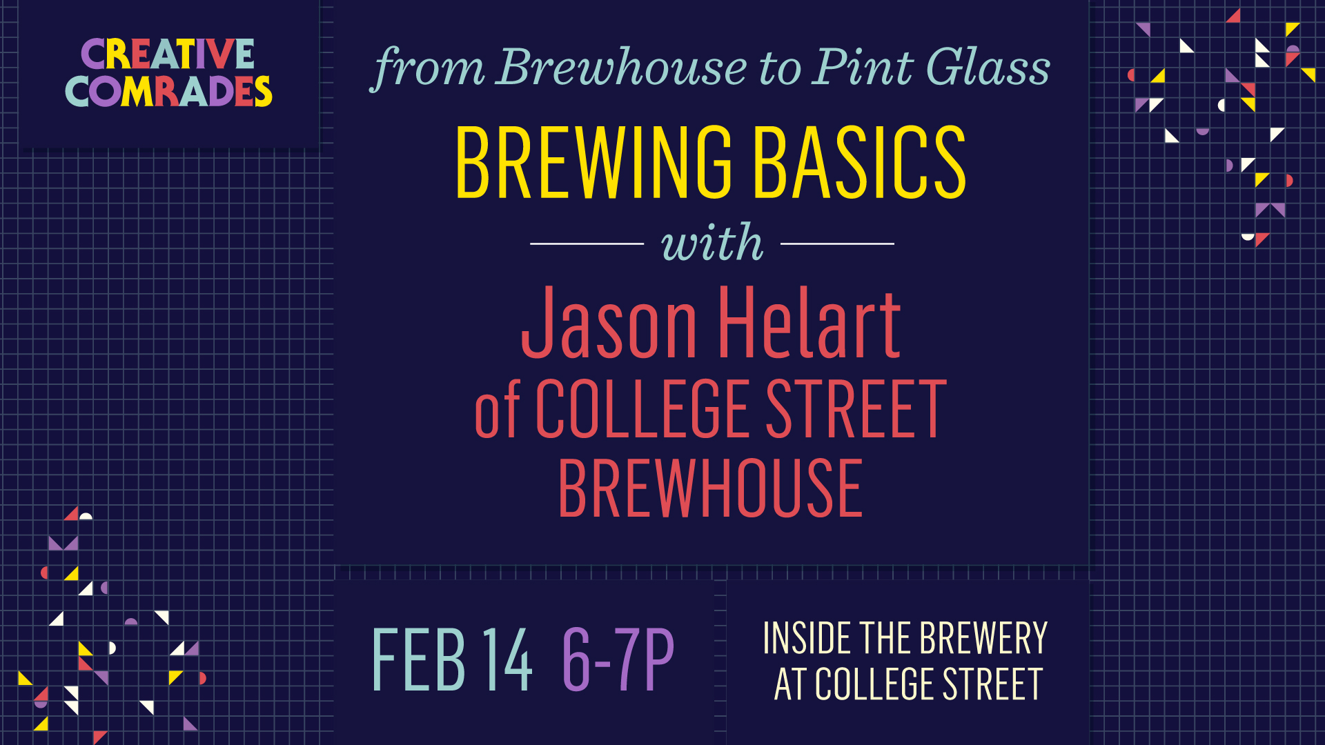 Creative Comrades | Brewing with College Street