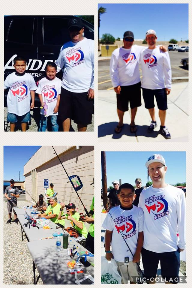 Pond Hopper Nation 2nd Annual Teach a Child to Fish Day