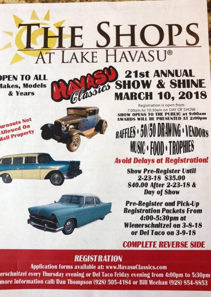 Havasu Classics 21st Annual Show and Shine