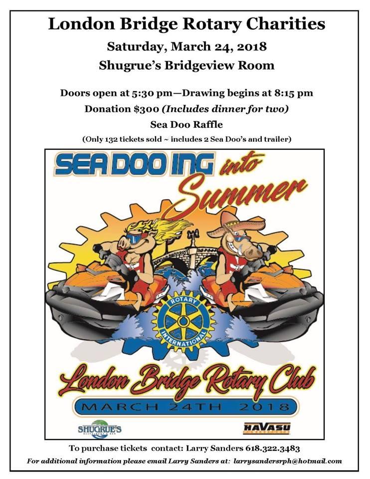 Rotary SeaDoo Auction!