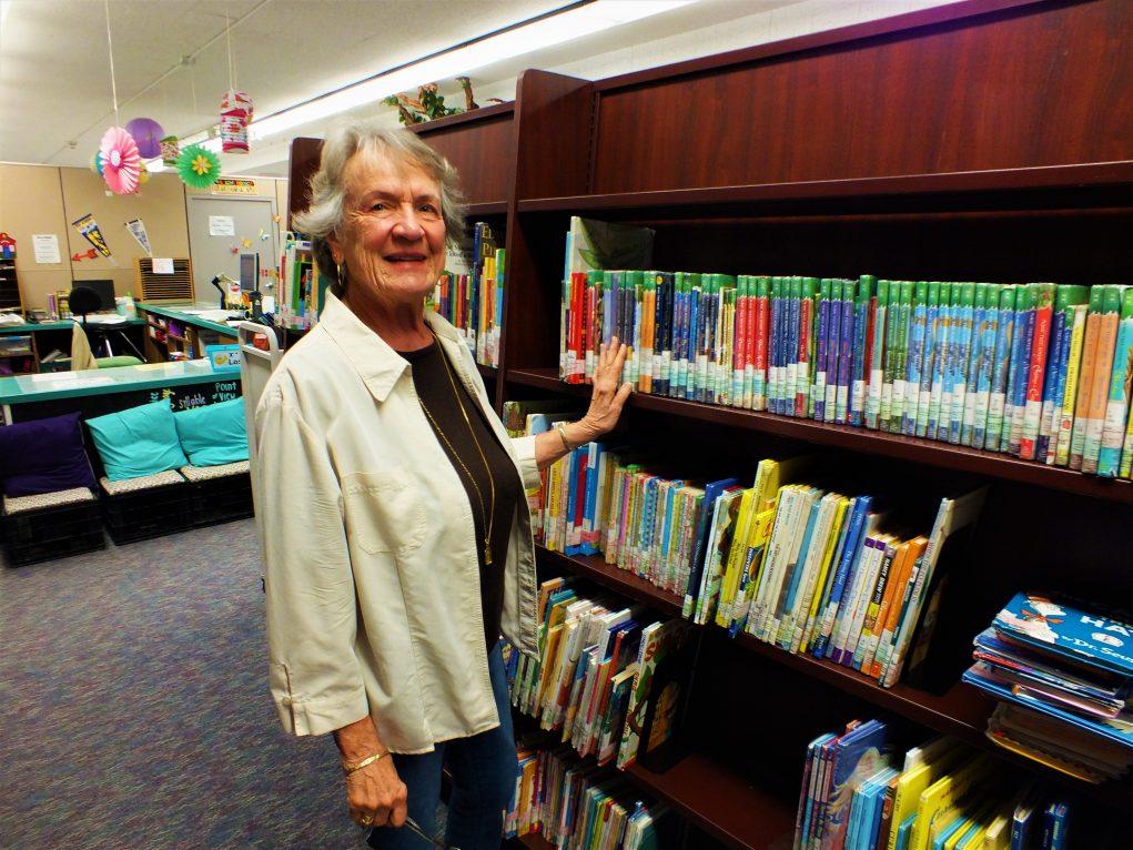 Meet the Hidden Helper Between the Bookshelves
