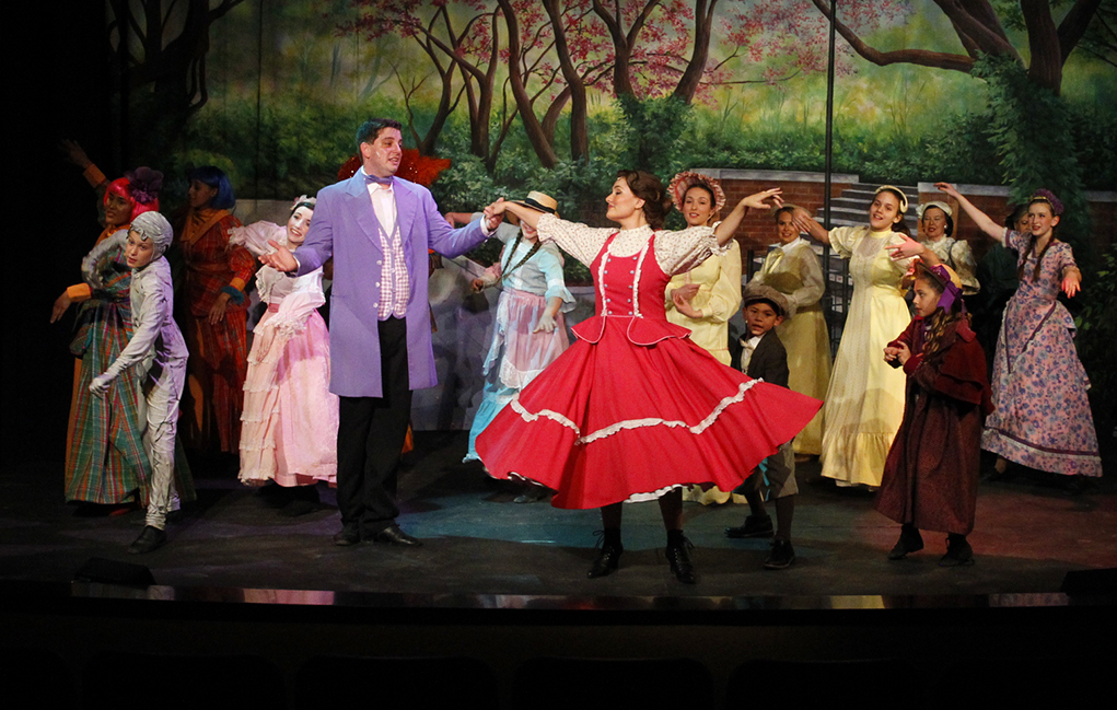 'Mary Poppins' Takes The Stage at Grace Arts Live