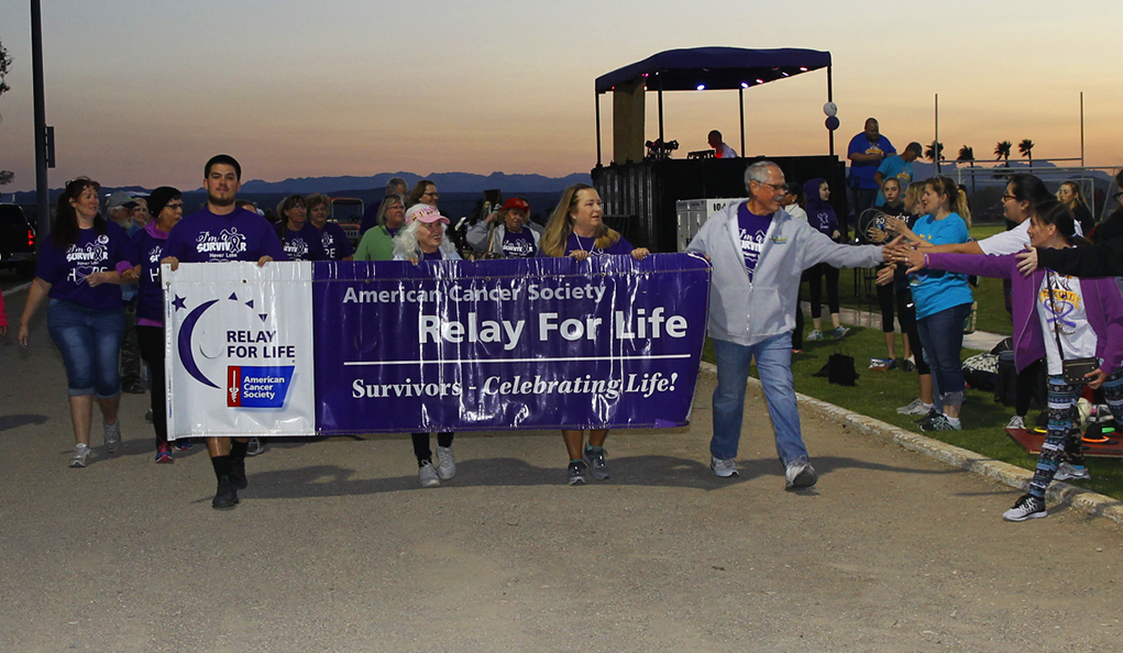 Teams Walk To Cure Cancer In Relay For Life