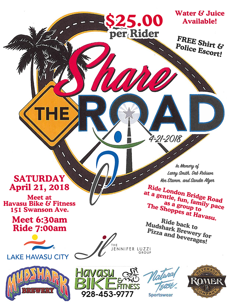 Share the Road Memorial Bicycle Ride
