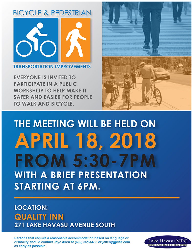 Bicycle and Pedestrian Transportation Improvements