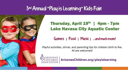 3rd Annual Play Is Learning Kids Fair