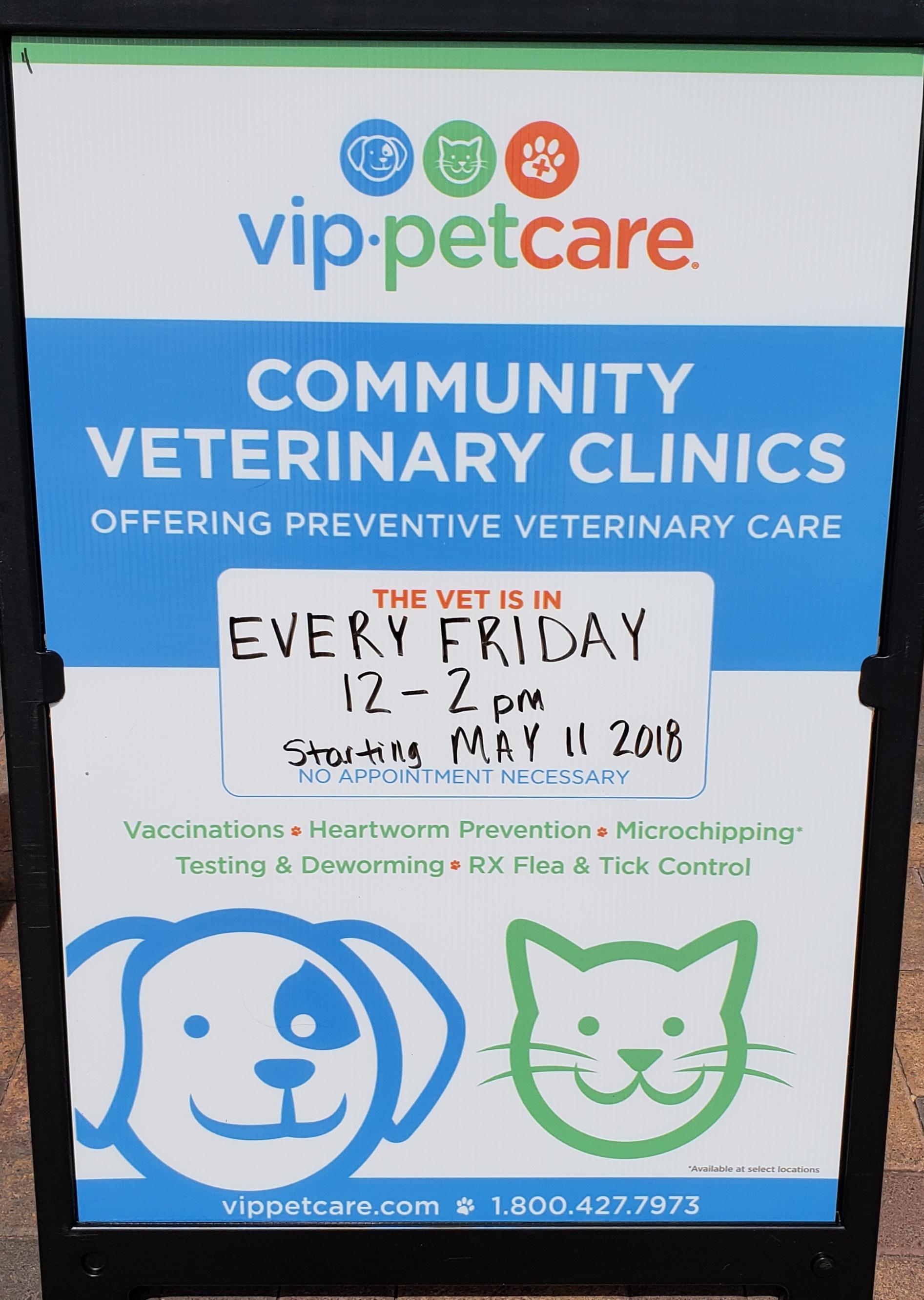 PetSmart Shot Clinic