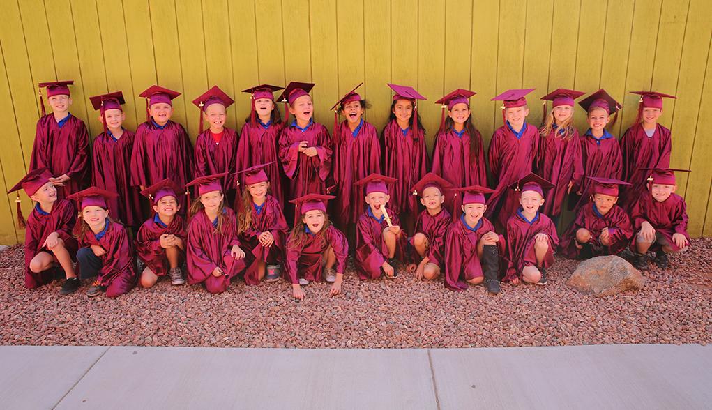 Congratulations HPA Kindergarten and 8th Grade Graduates