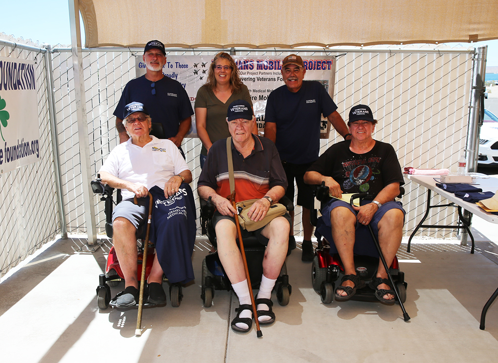 Veterans, Children Given Gift Of Mobility