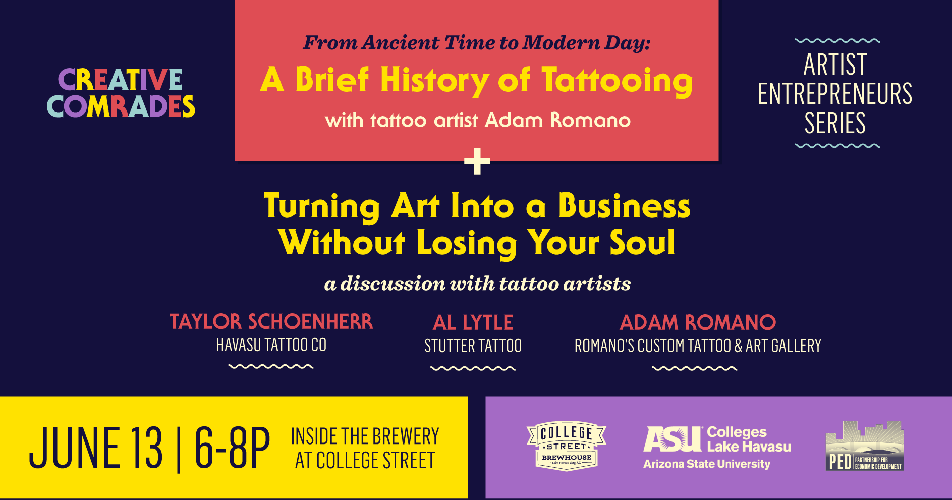 Creative Comrades | A Brief History of Tattooing & Turning Art Into a Business Without Losing Your Soul